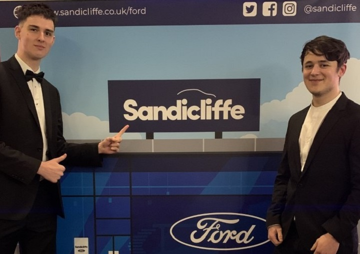 Guests enjoy Sandicliffe exclusive backdrop at Private Screening event