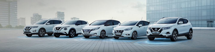 New Nissan range available with huge savings up to £7,050