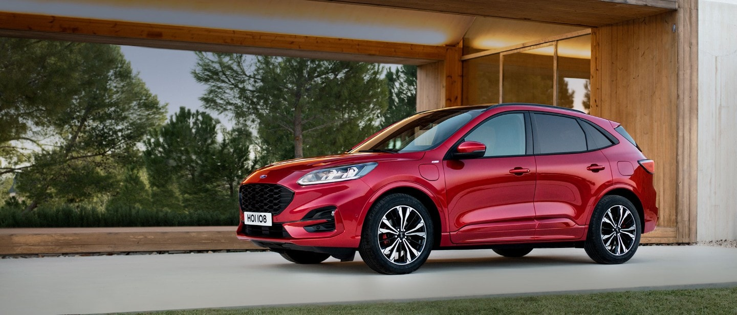 All-New 2020 Ford Kuga parked in driveway