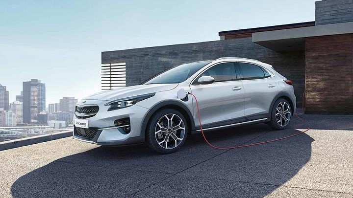 kia xceed phev charging at home