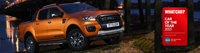 Ford Ranger Wins Best Pick-Up of the Year 2021