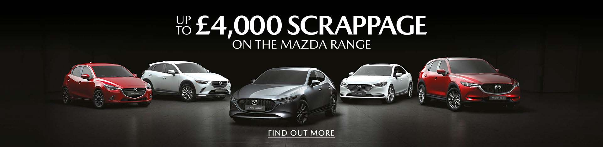 Mazda Scrappage Scheme 2020 with £4,000 allowance