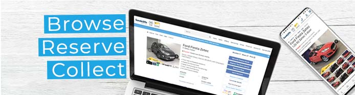 Browse, Reserve & Collect – Buy Your Next Car In 3 Easy Steps!
