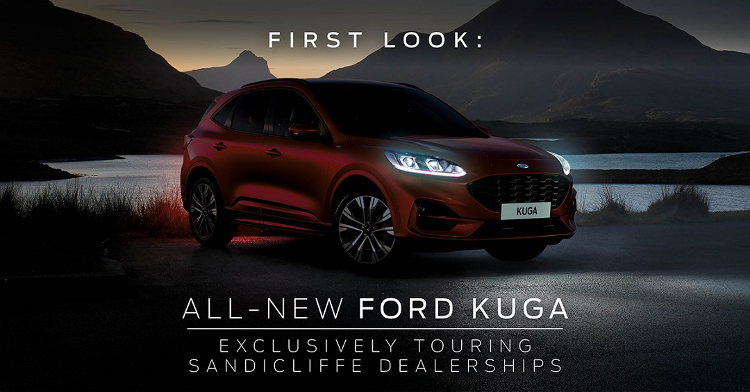 New Ford Kuga Tour