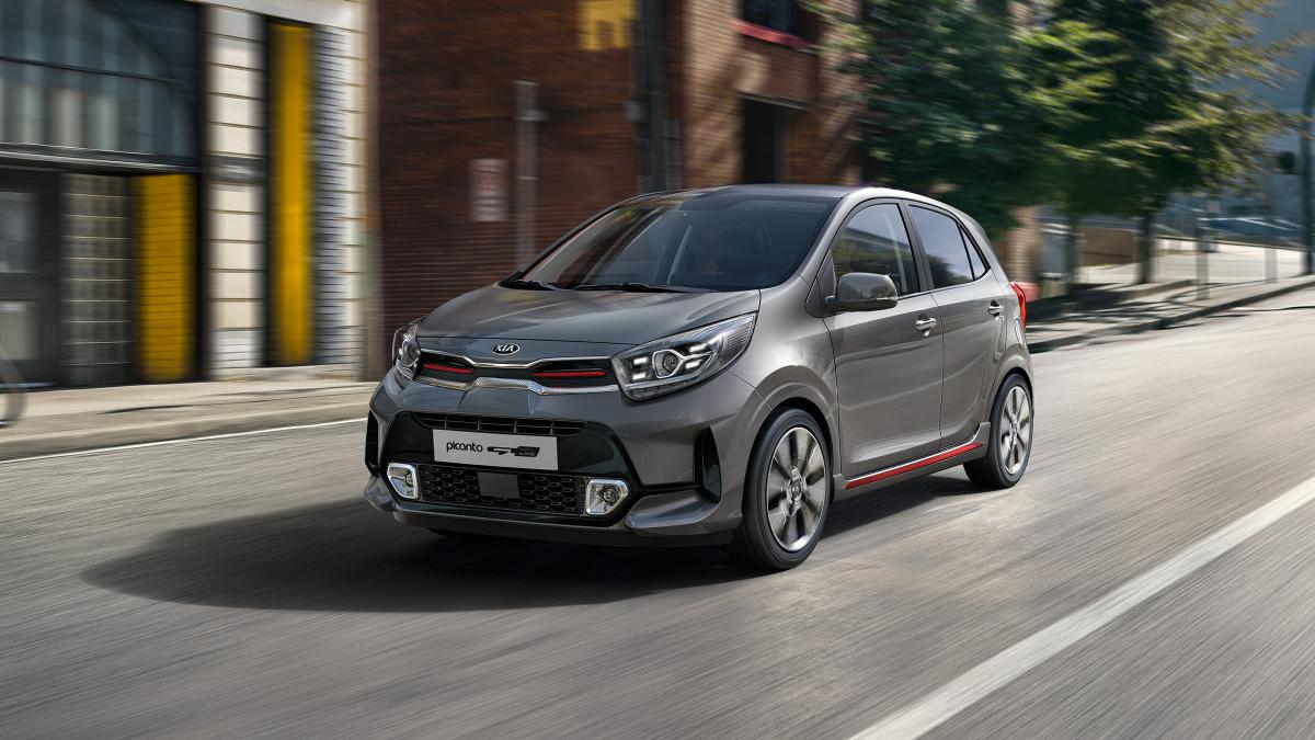 Kia Picanto 2020 GT Line safety technology updates including Lane Keep Assist