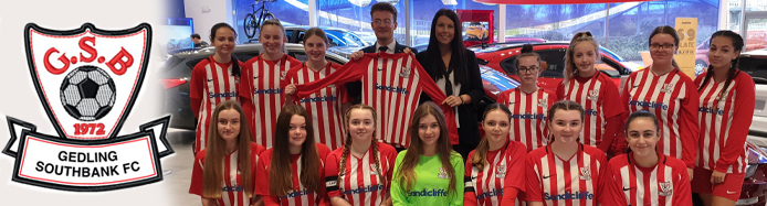 Gedling Southbank U15 FC Are Proudly Sponsored by Sandicliffe