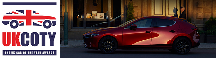 Mazda3 Announced As 2020 Small Hatch of the Year In UKCOTY Awards