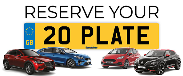 reserve your 20 plate on new cars