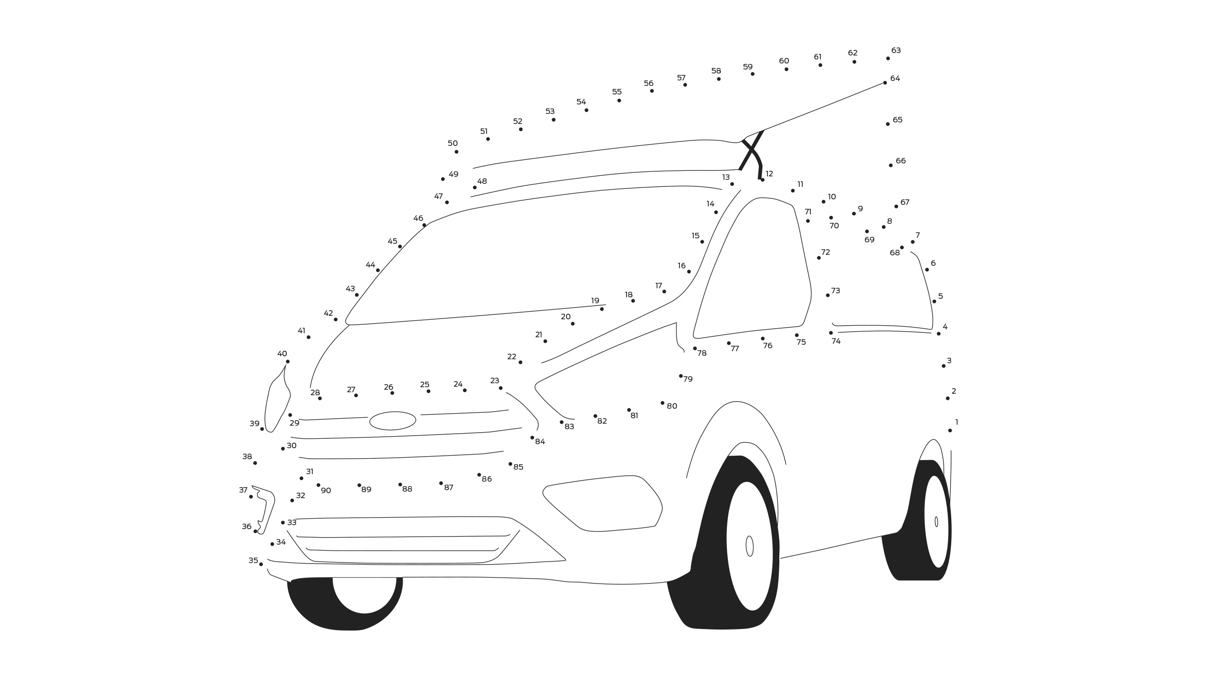 Ford Stay Home Transit Nugget dot to dot puzzle