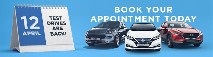 Our Showrooms Are Now Open - Book Your Test Drive