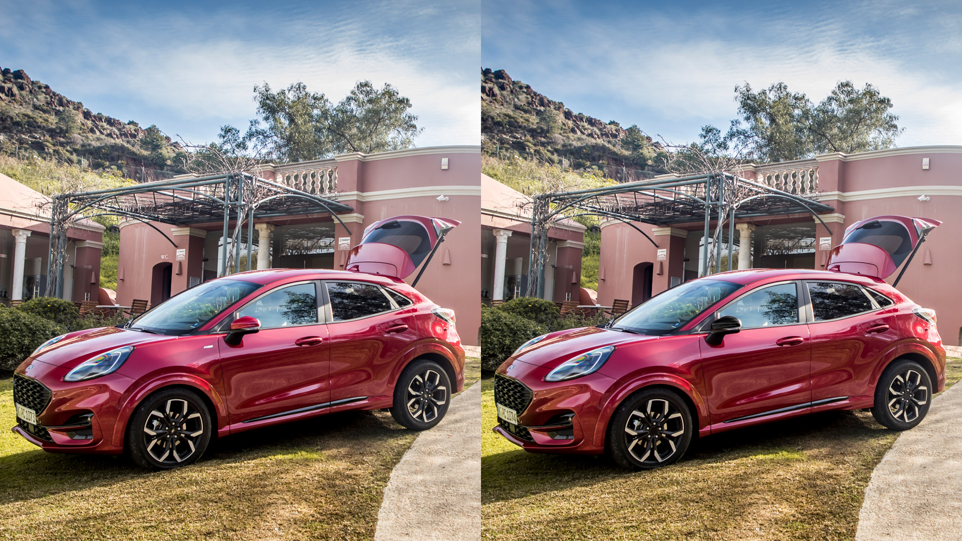 Ford Stay Home Puma spot the difference game