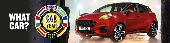New Ford Puma Wins WhatCar? Car Of The Year 2020