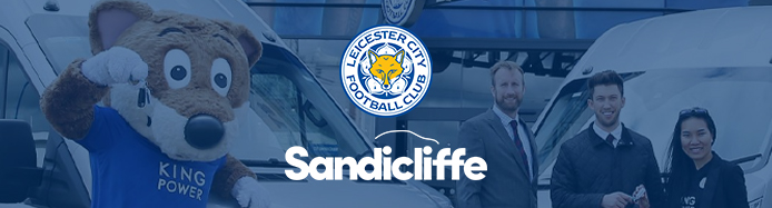 Sandicliffe Renews Sponsorship With Leicester City Football Club