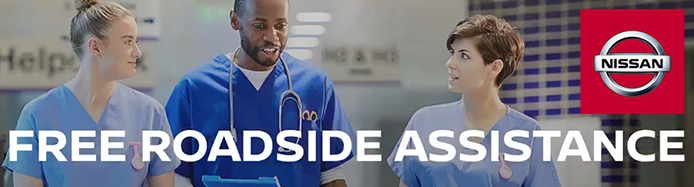 FREE Roadside Assistance Available To All Key Workers Who Own A Nissan Vehicle