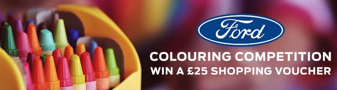 Ford Stay Home Kids Activity Booklet – Colouring Competitions & Puzzles!