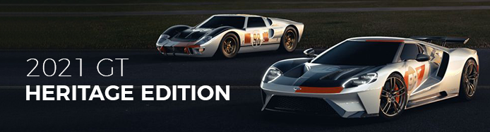2021 New Ford GT Heritage Edition Announced Pays Homage To Daytona '66