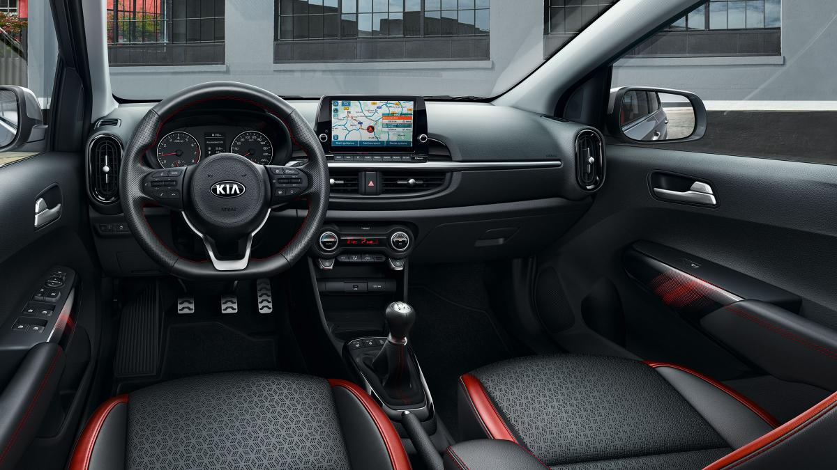 Kia Picanto 2020 interior updates with new touchscreen display and interior colour pack
