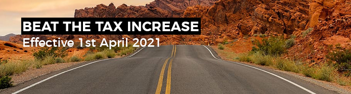 What Is The April 2021 Road Tax Increase (VED) And How Will It Affect You?