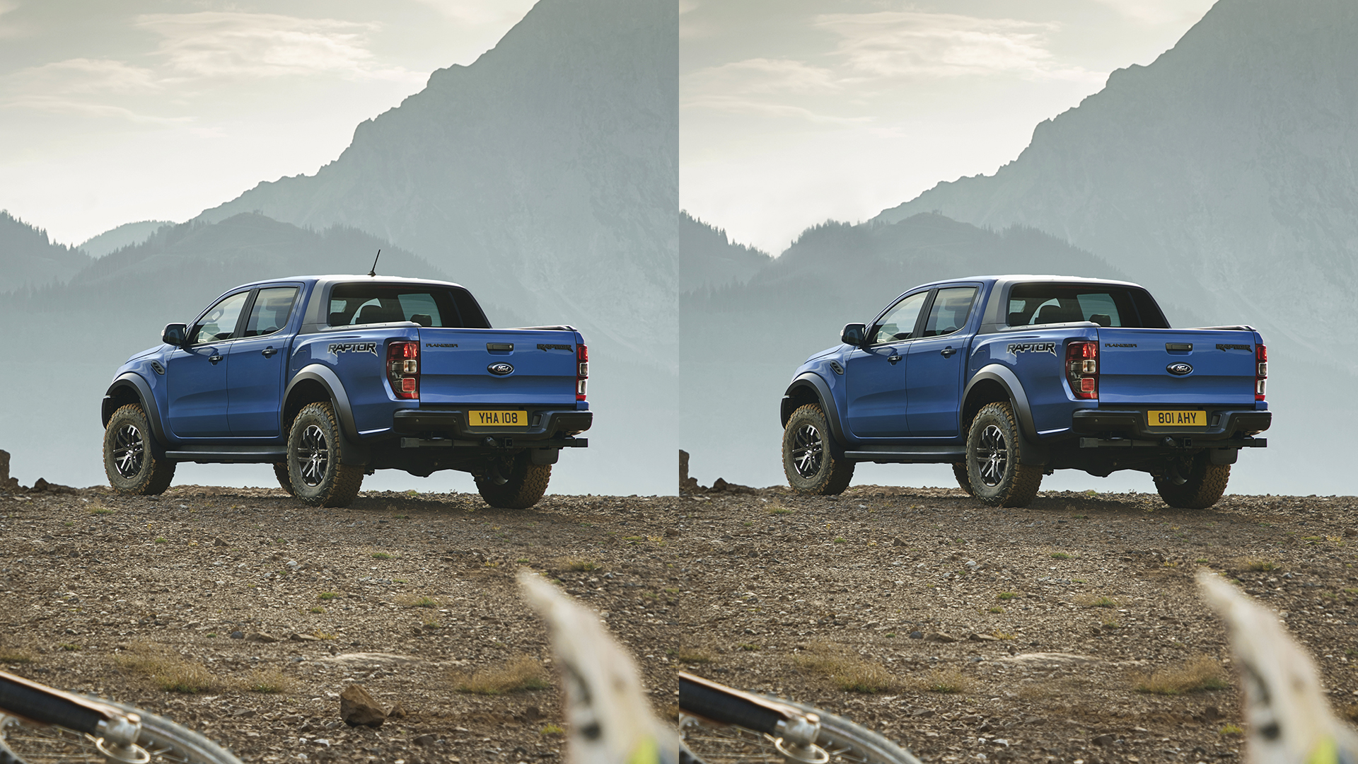 Ford Stay Home Raptor spot the difference game