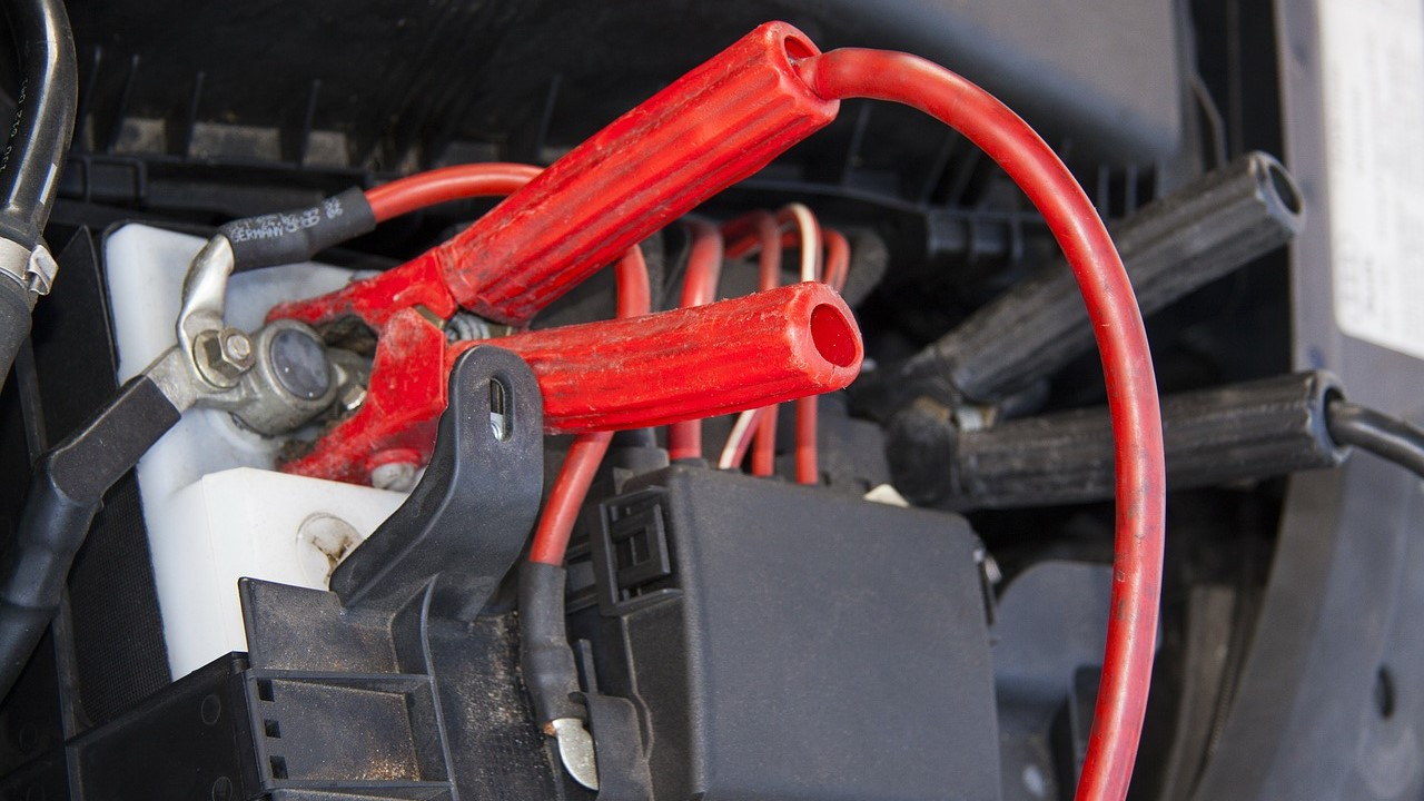 car battery jumper start cables