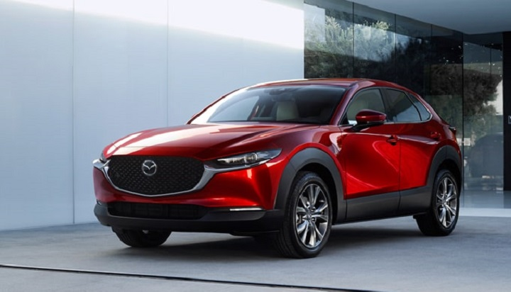 All-New Mazda CX-30 Crossover parked in driveway