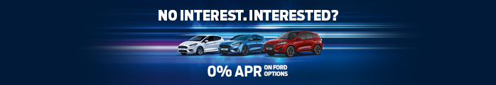 Ford 0% Finance Page