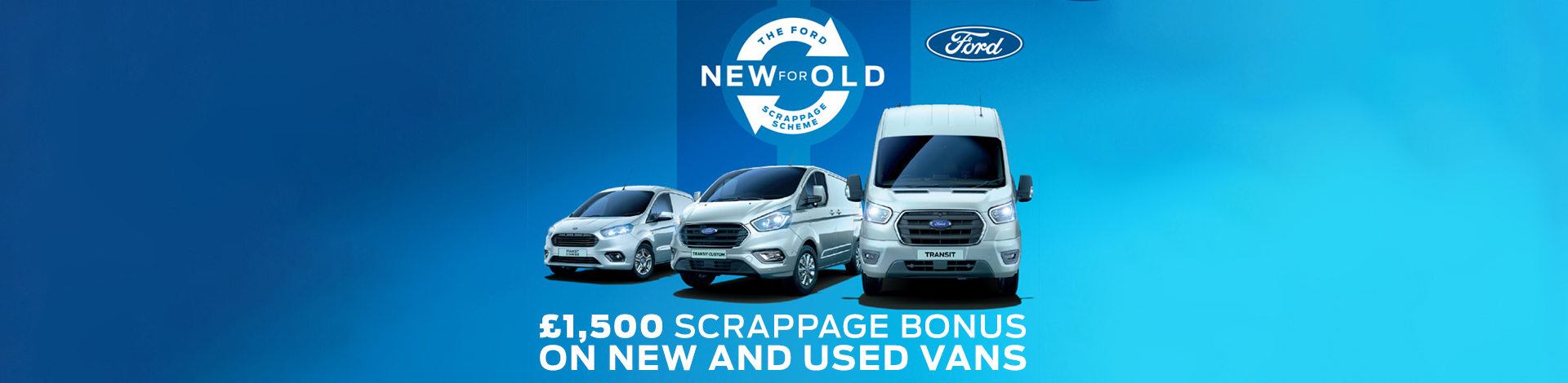 Ford Vans Scrappage Banner