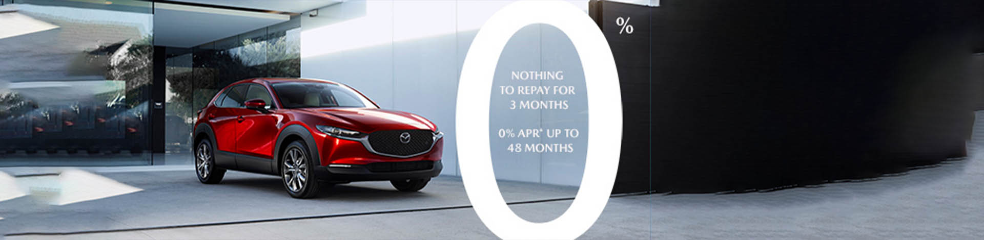 Mazda 0% Page Banner