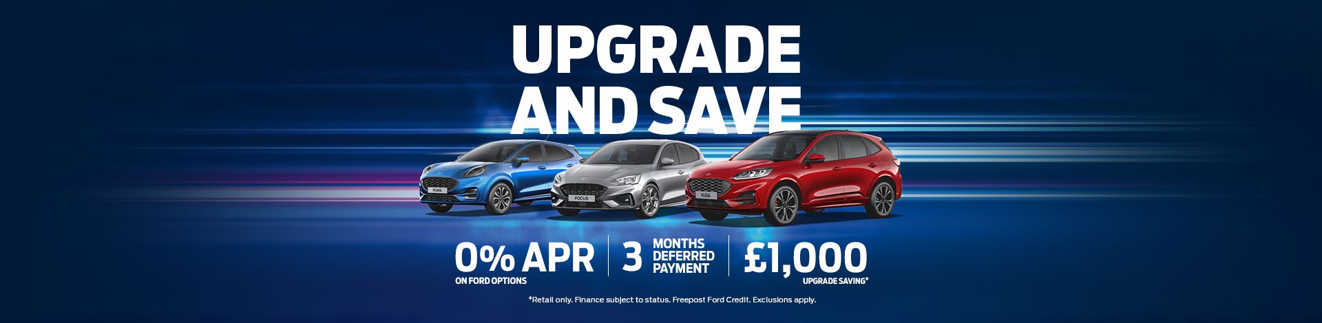 Ford Upgrade and Save Cars