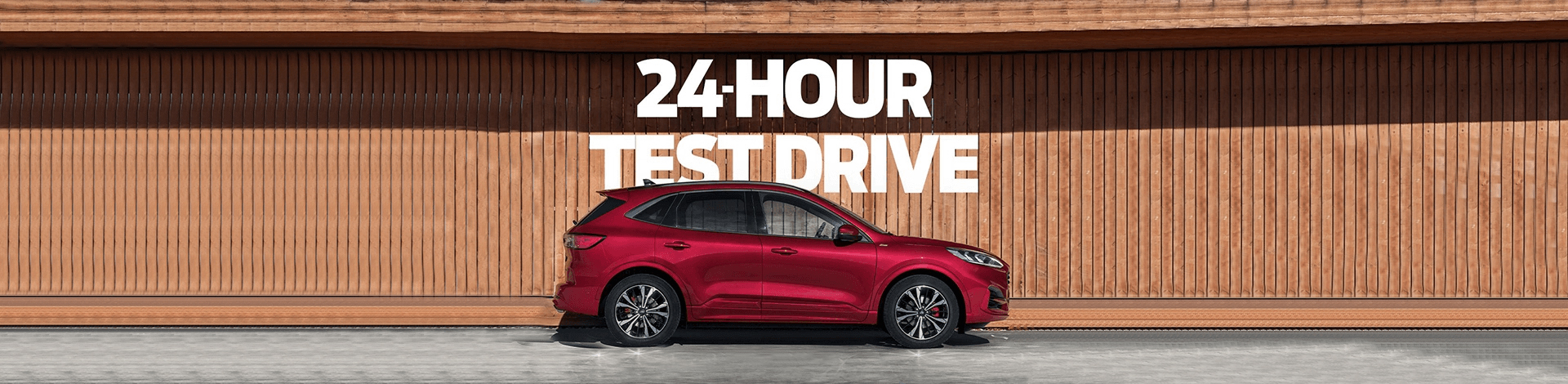 Kuga Test Drive Event Page