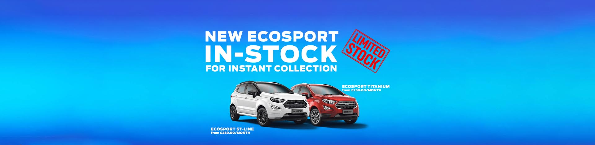 /ford/ecosport New In Stock