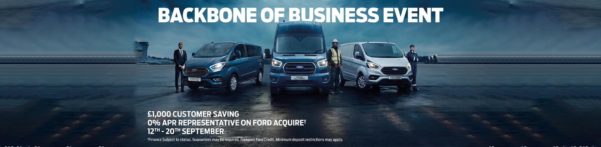 Ford CV Sales Event