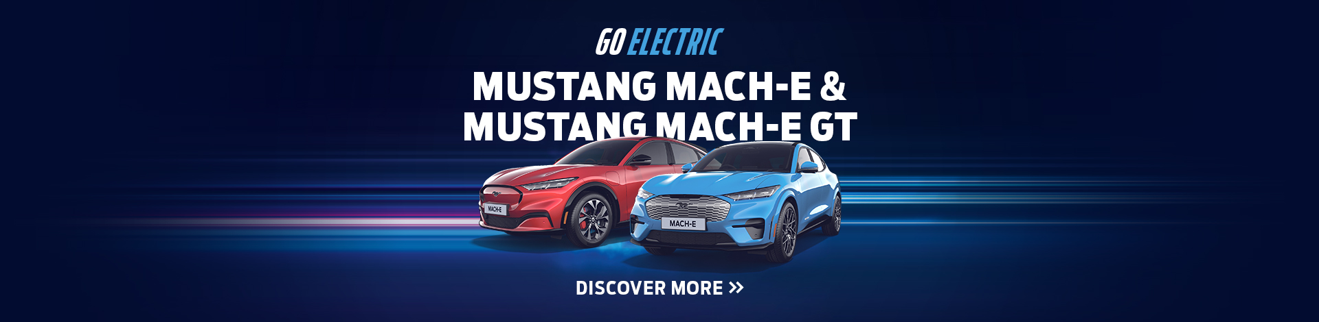 Go Electric - Mustang Mach-E & GT