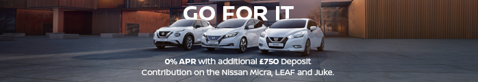 Nissan GO FOR IT Event Banner