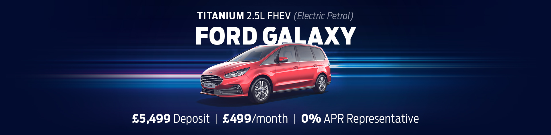 Ford Galaxy Offer Banner (Oct 21)
