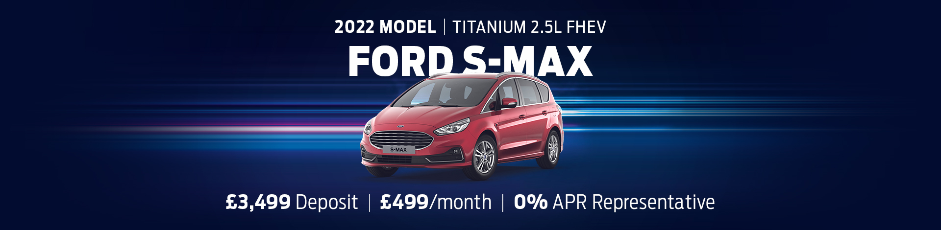 Ford S-Max Offer Banner (Oct 21)