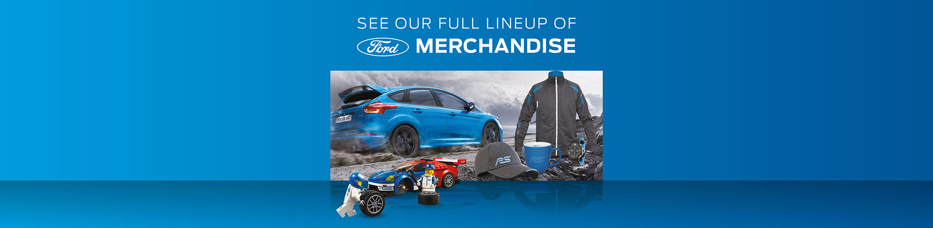 Ford Merchandise Shop Banners