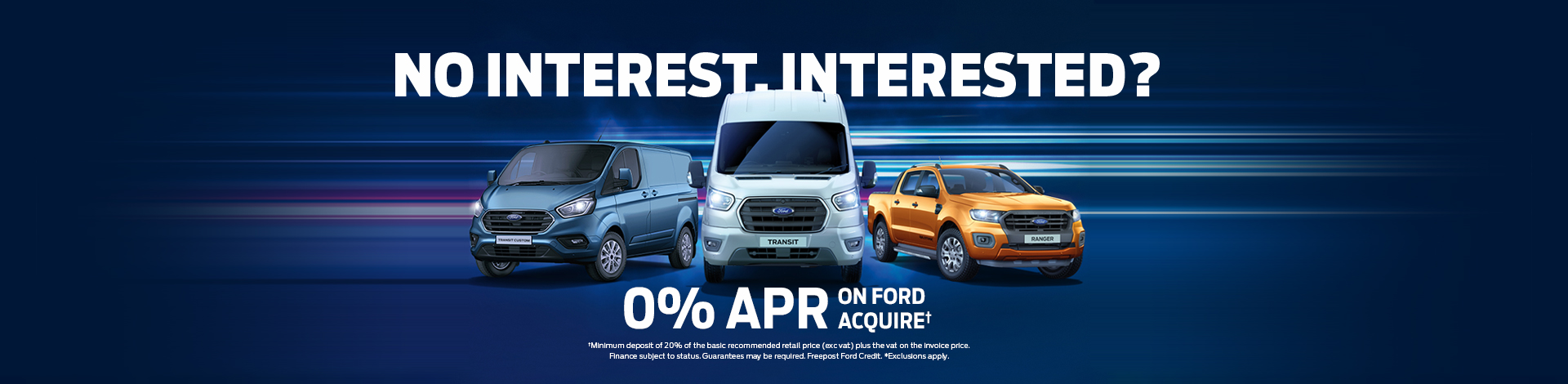 Ford Vans 0% Page