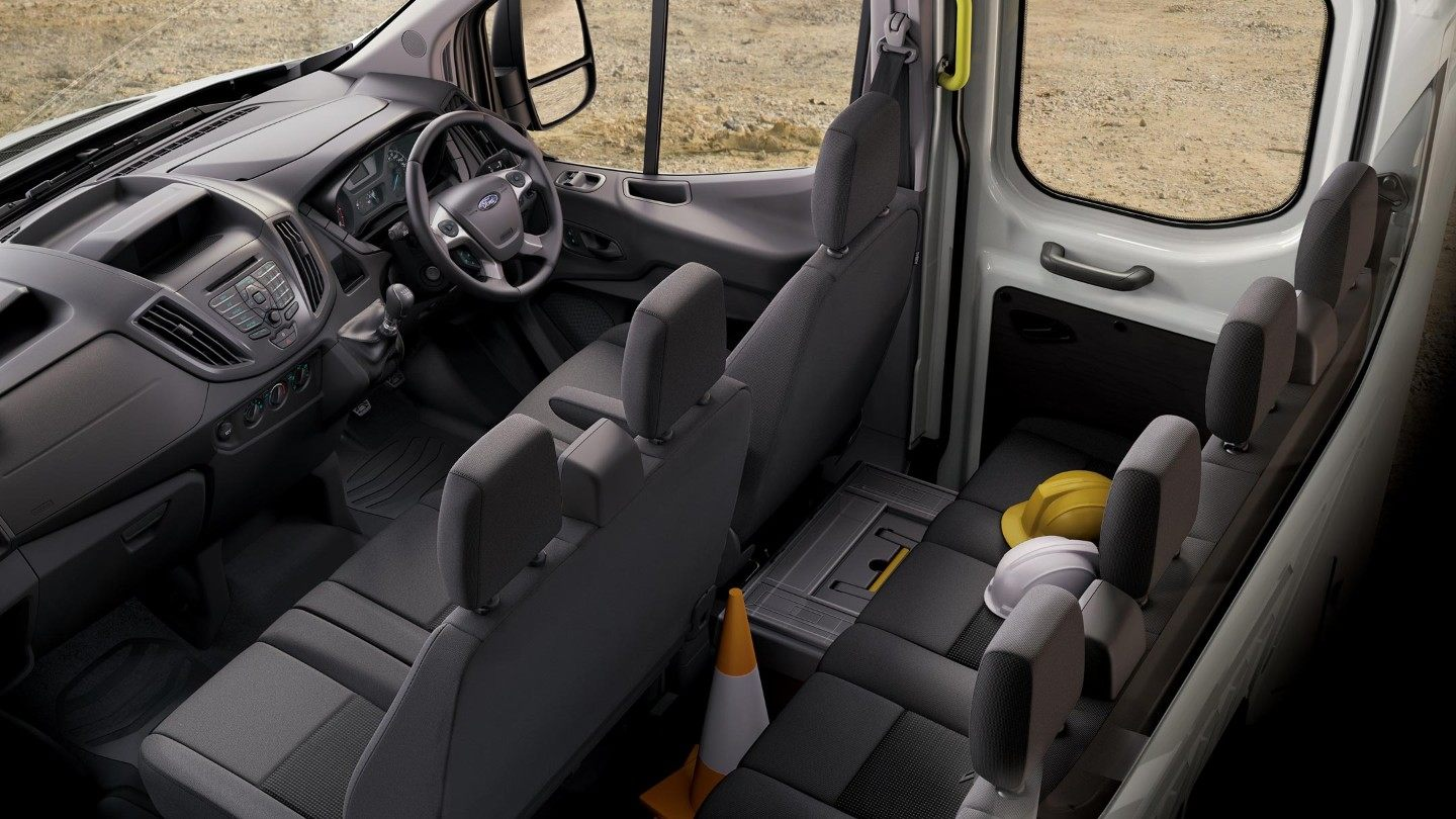 Ford Chassis Cab Interior