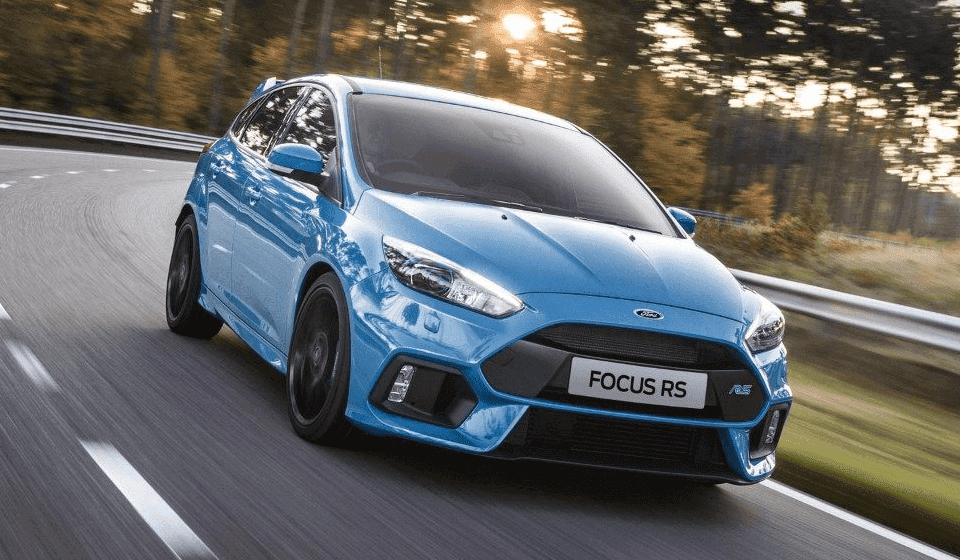 Ford Focus RS Front Shot