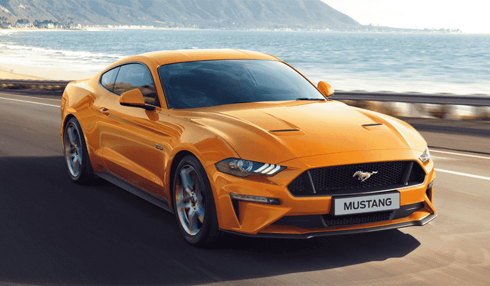 Ford Mustang Front Shot