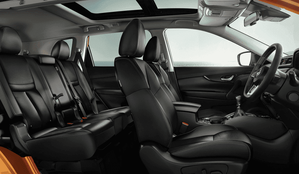 Interior View of Nissan X-Trail