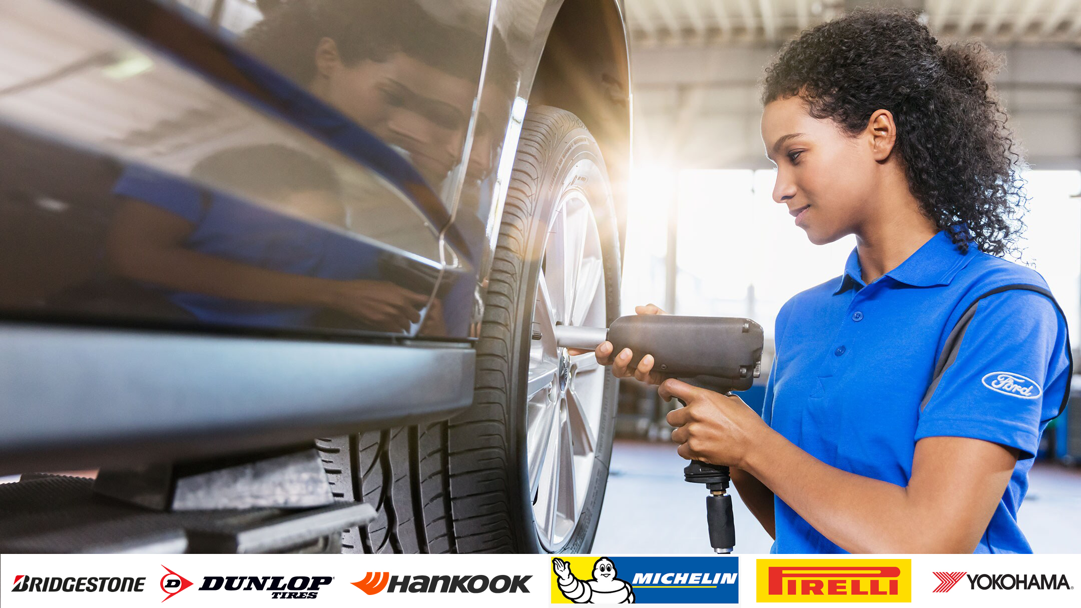 Ford Servicing Tyres