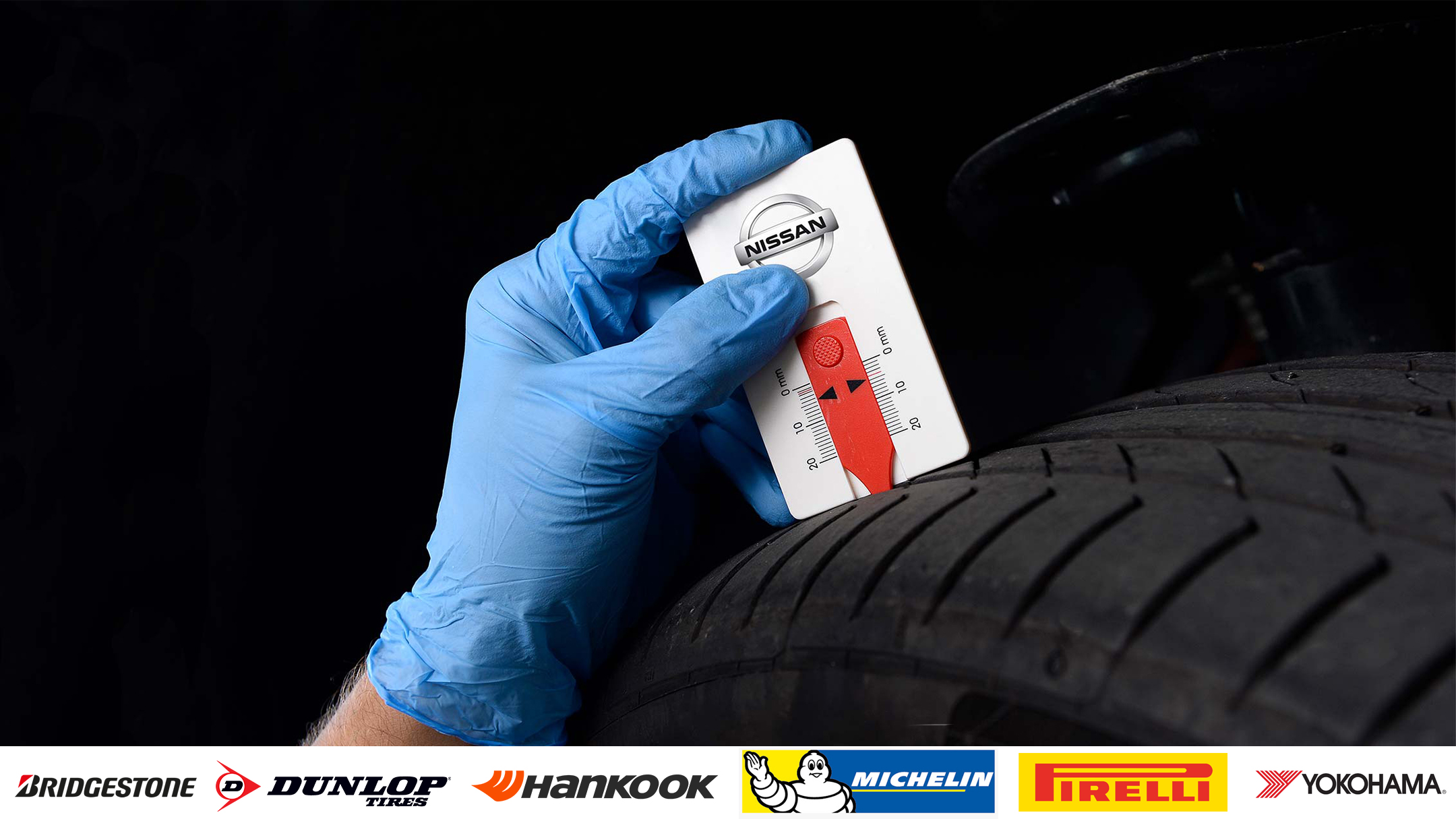 nissan Servicing Tyres
