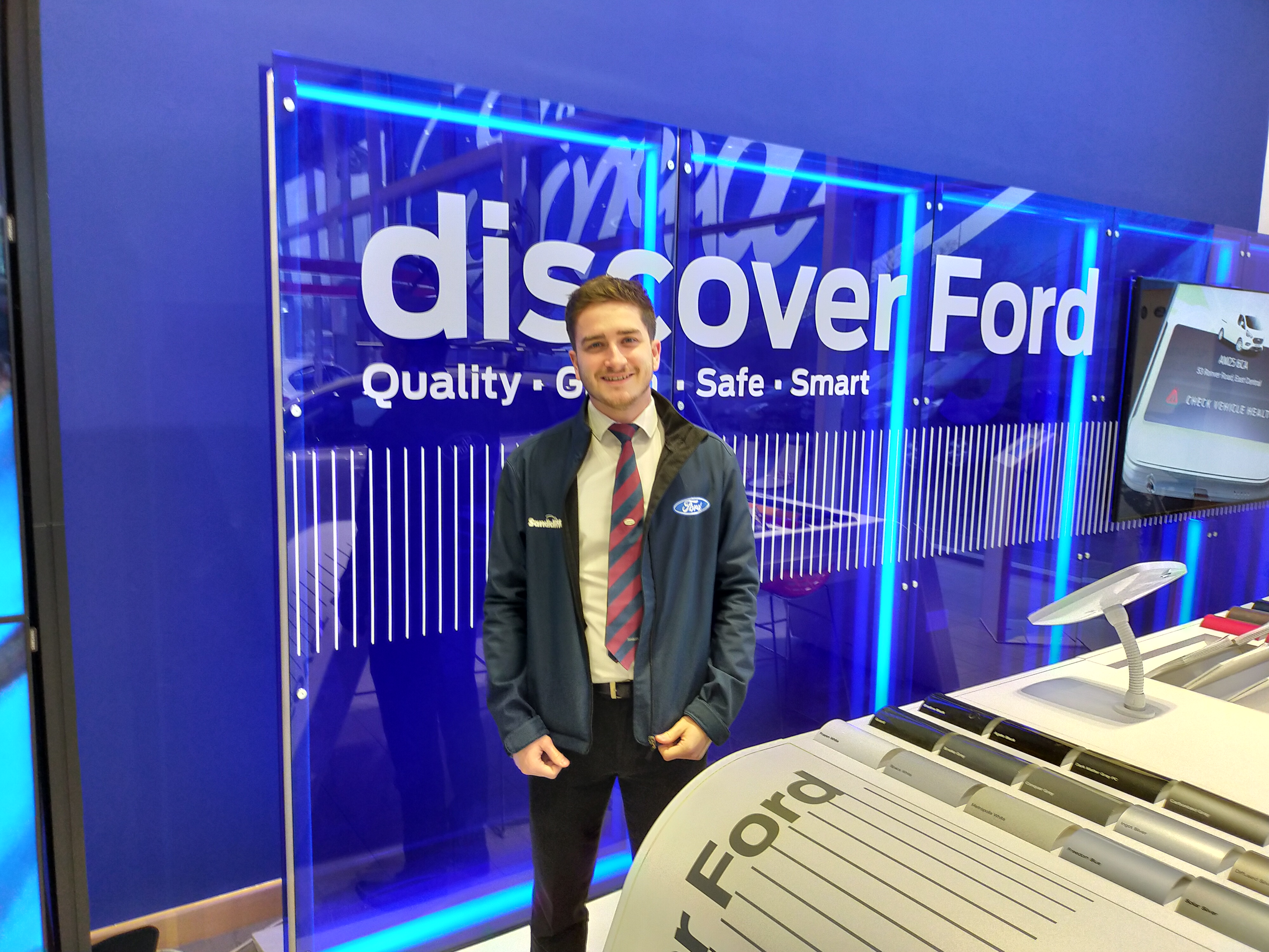 Dale Matthews Ford Motability Specialist at Stapleford, Nottinghamshire