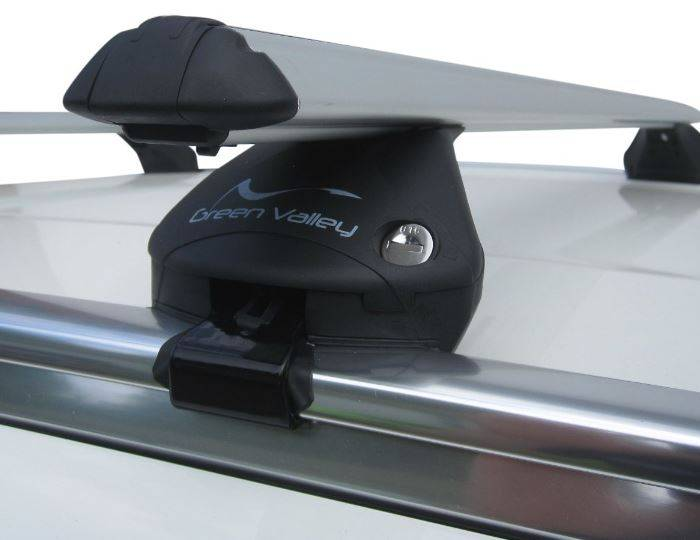 Aero-Aluminium-Roof-Rack-Lockable-Rail-Bars-Bmw-X3-(F25)-2011-Onwards-FlushRails 1