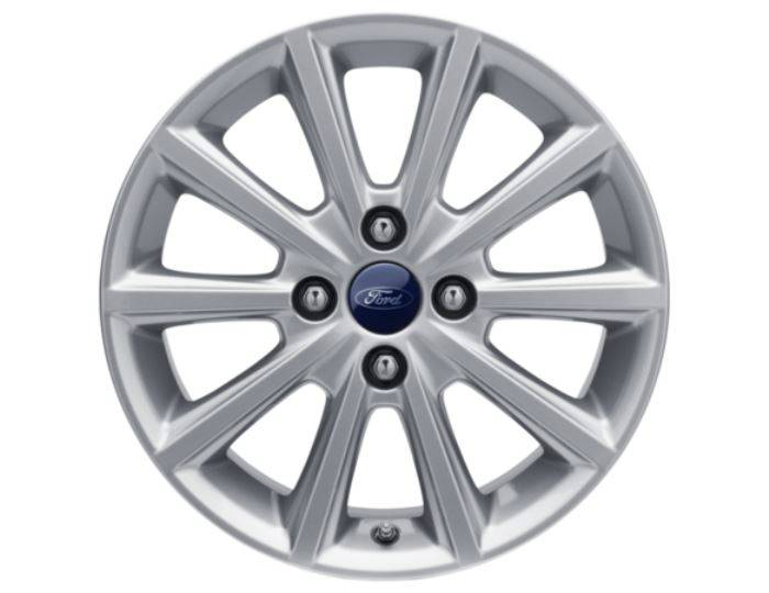 Genuine-Ford-Fiesta-2017>-16--Alloy-Wheel---Sparkle-Silver---2089631 1