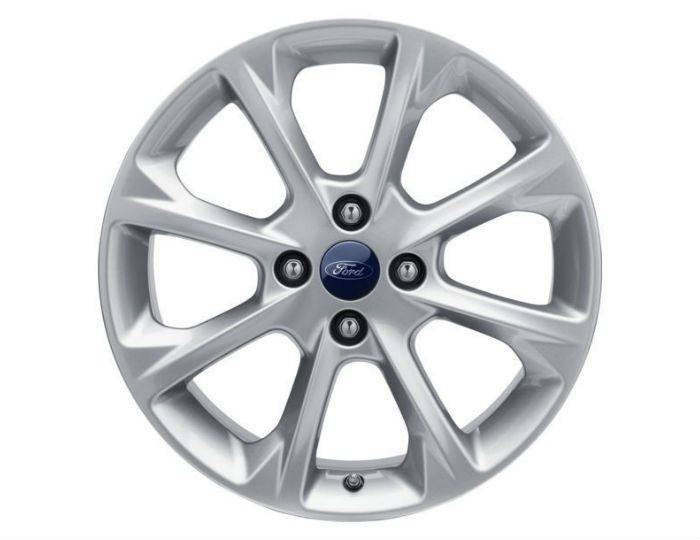 Genuine-Ford-Fiesta-2017>-17--Alloy-Wheel---Sparkle-Silver---2089632 1