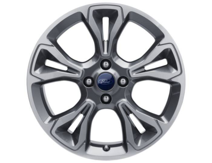Genuine-Ford-Fiesta-2017>-18-Alloy-Wheel---Rock-Metallic-Machined---2125249 1
