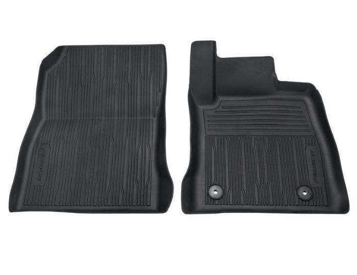 Genuine-Ford-Fiesta-2017>-Front-Rubber-Floor-Mats--Raised-Edges-Black-2109980 1